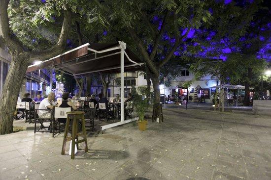 Palapa Restaurant & Bar : terraza 2.... un encanto en la placita