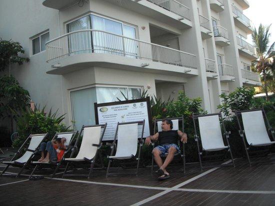 Bel Air Collection Resort & Spa Vallarta: Cerca de la alberca