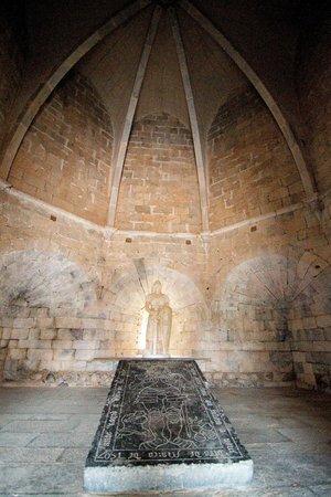 Castelo de Beja: Rummet inde i tårnet