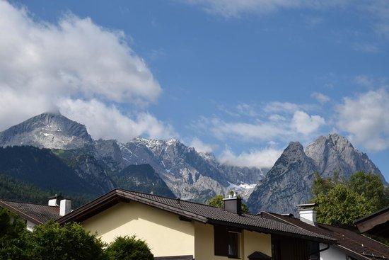 Hotel Garni Brunnthaler: Himmel in Weiß-Blau