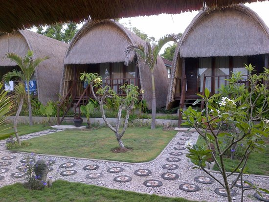 Sunset Coin Lembongan: the room