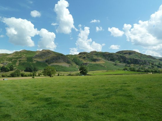 Dalebottom Farm Caravan & Camping Park: view of High Rigg