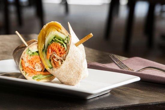 Terra Cafe: New Delhi vegetarian sandwich
