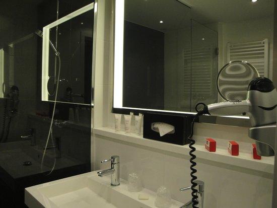 Thon Hotel EU : la salle de bain