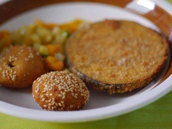 Hotel Luxor : Falafel …