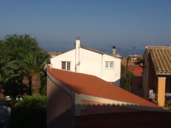 Sebastian's Family Taverna & Accommodation: view from room 4