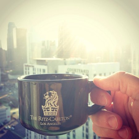 The Ritz-Carlton, Los Angeles: Great morning coffee
