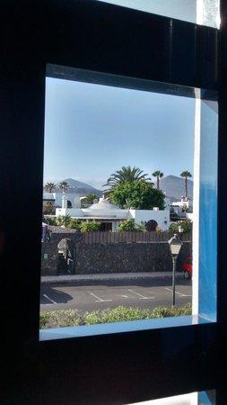 Ole Olivina Lanzarote: vue depuis la chambre