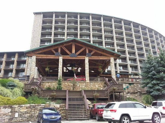 Seven Springs Mountain Resort: Front entrance