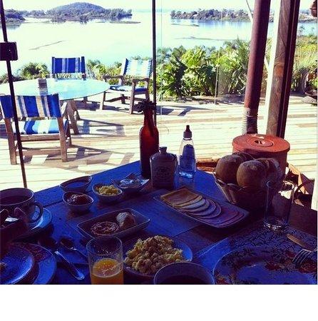 Hospedaria Ponta Da Piteira: Café da manhã degustação