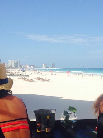 "Live Aqua Beach Resort Cancun: View from ""sea corner"""