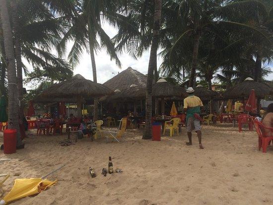 Guaxuma Beach: Melhor barraca... Atendimento nota mil....