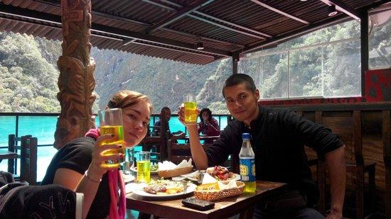 Ecopackers Machupicchu: Disfrutando un delicioso Lomo Salteado