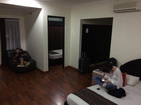 Stana Puri Gopa Hotel: Got upgraded to the superior room!