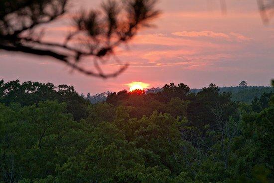 Idabel, OK: Beautiful Oklahoma sunset in Watson.