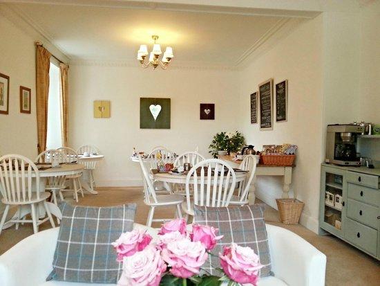 Westcot Bed & Breakfast : Guest lounge & Breakfast room