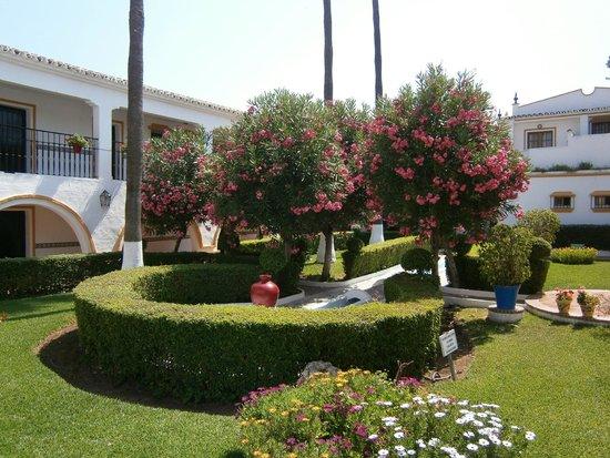 Globales Cortijo Blanco Hotel: Tuin