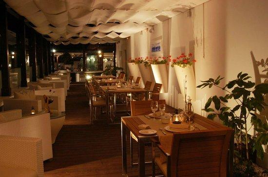 Restaurante Fortuna Terraza Vista Mar Fotografía De