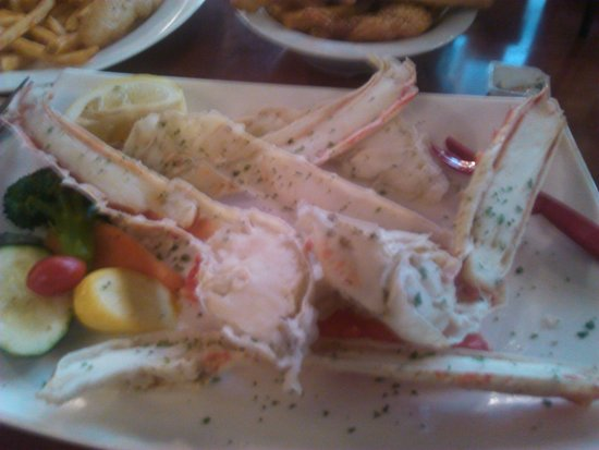Popeye's on Lake Geneva : crabtastic