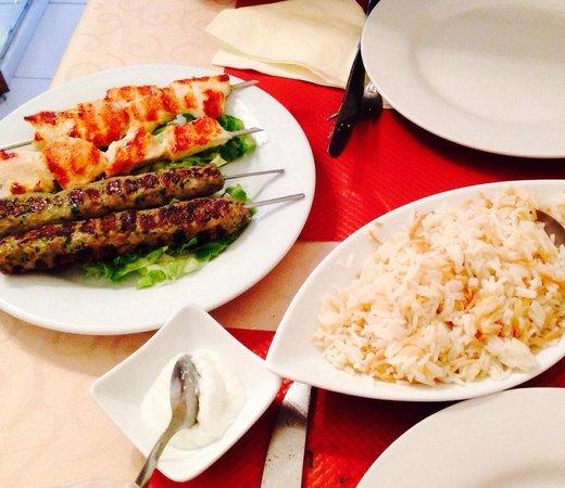 Restaurant Le Libanais: Les grillades avec riz aux vermicelles !!!