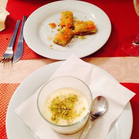 Restaurant Le Libanais: Les desserts !!! Excellents !!!