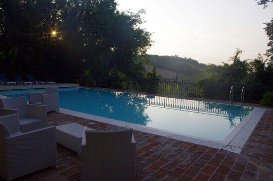 Relais Palazzo Viviani: la piscina
