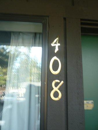 Alpenhof Lodge : Notre chambre situé en RDC