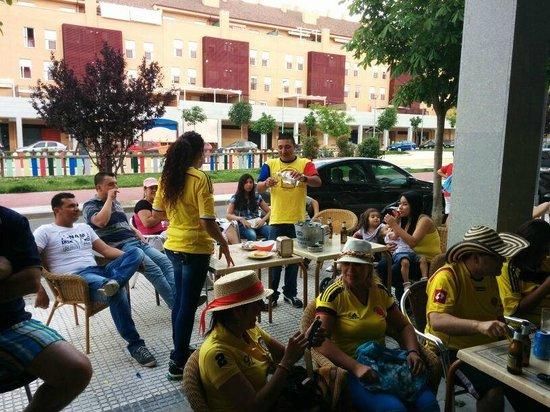 Navalcarnero, Espagne : Colombia!
