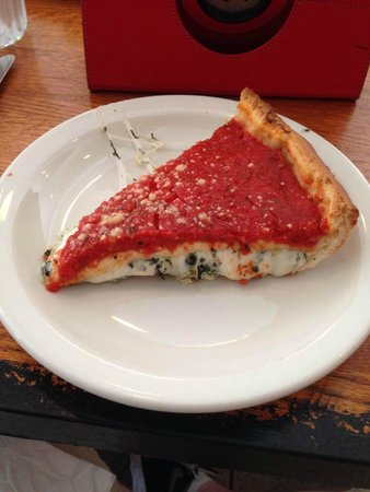 Chicago Food Planet : Bacino's stuffed pizza - I'm craving it now!  Open one in Peoria please!