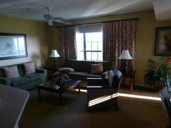 Holiday Inn Club Vacations At Orange Lake Resort : Sala da 2 Bedroom Villa