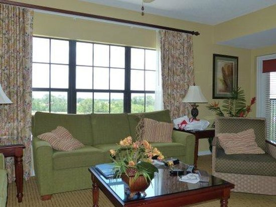Holiday Inn Club Vacations Orlando - Orange Lake Resort: Sala da 2 Bedroom Villa