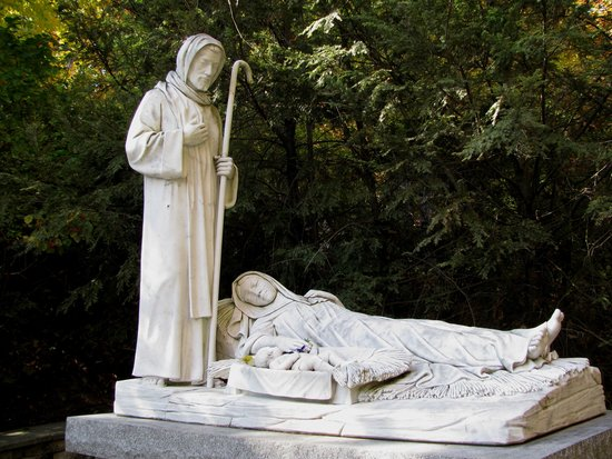 National Shrine Grotto of Lourdes : serenity now!
