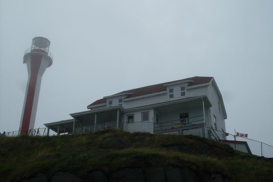 Cape Forchu Lightstation: Great food upstairs