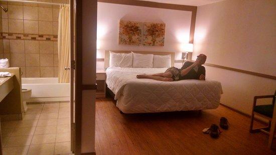 Burlington Inn: very nice, spotless room!