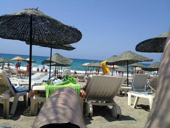 Sonas Alpina Hotel: зонтики