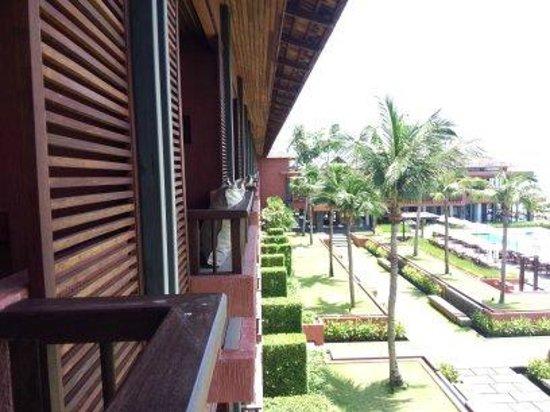 Hansar Samui Resort: วิวเมื่อมองจากห้องพักแบบ sea view