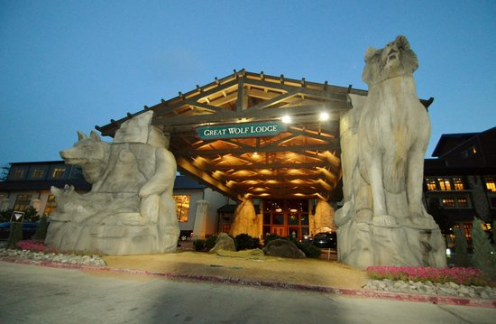 Great Wolf Lodge Grapevine : hotel entrace Grapevine, Texas