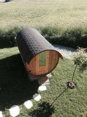 Maya Boutique Hotel & Spa : The barrel sauna
