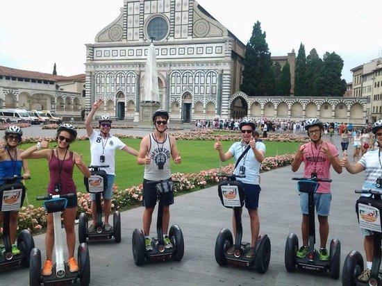 Italy Segway Tours: Florence Segway Tour am 20.07.2014