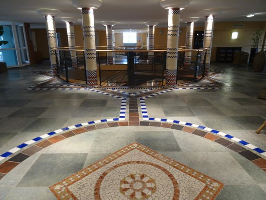 Grand Hotel des Flamants Roses: espace spa/détente