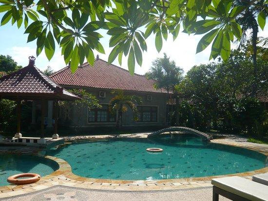 Sukun Bali Cottages: Piscine