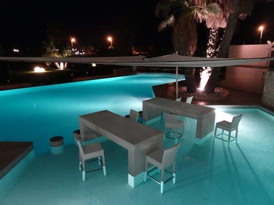 Grand Hôtel des Flamants Roses : piscine extérieure