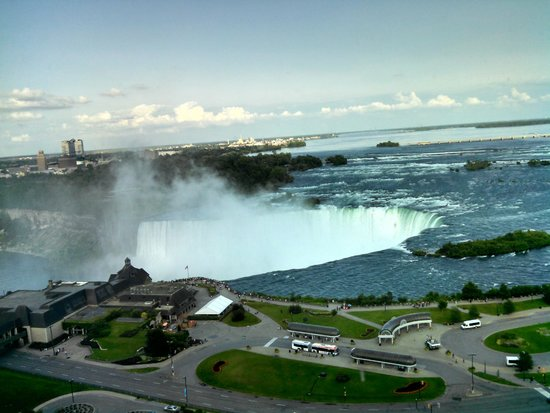 Niagara Falls Marriott Fallsview Hotel & Spa : View from room 1826