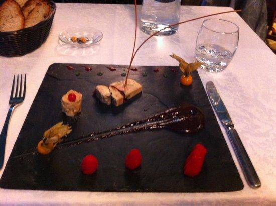 Les jardins d'Harmonie : Foie gras