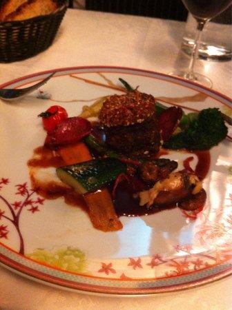 Les jardins d'Harmonie : Veau et légumes croquants