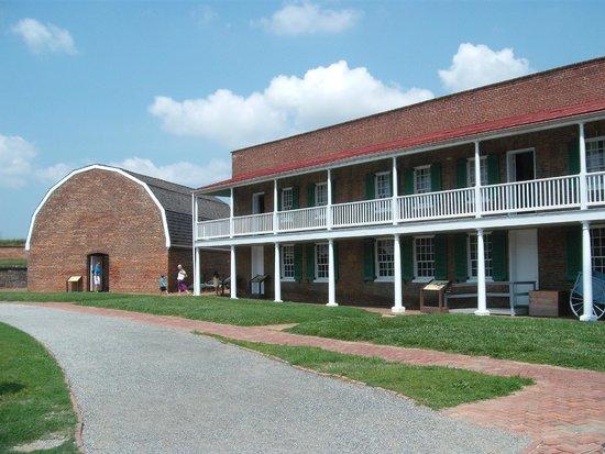 Fort McHenry National Monument : Powder Magazine & Barracks