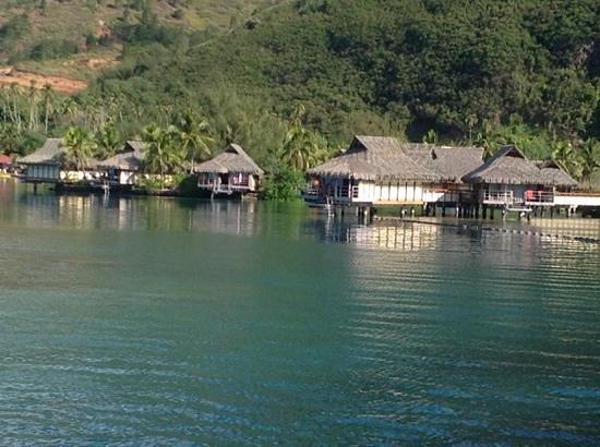 InterContinental Moorea Resort & Spa: vista desde nuestra habitación