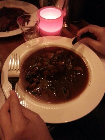 Kop van Jut: Filetto ai funghi. ..buonissimo!