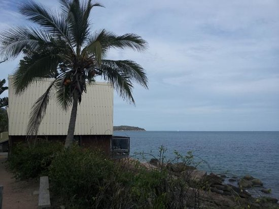 Base Backpackers: view from the huts