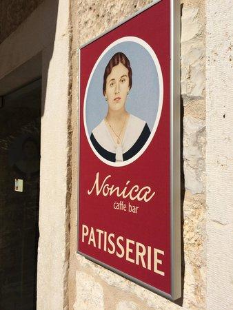 Nonica: Sign outside